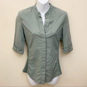 Standard James Perse Button Down Shirt Size 2